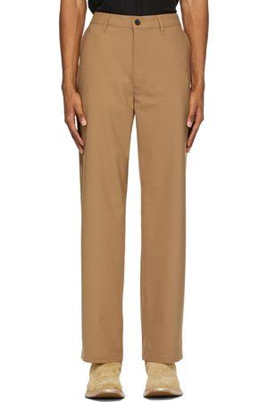 Sunflower Men Pants - Khaki Wool Soft Trousers