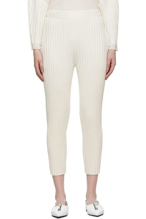 Stella McCartney Wool Ribbed Lounge Pants