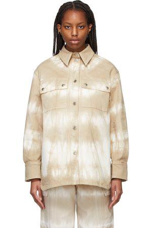 Stella McCartney Women Denim - Denim Tie-Dye Bamboo Safari Shirt