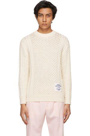 Stella McCartney Men Sweaters - Off- Shared OBS 23 Aran Sweater