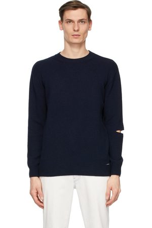 Stella McCartney Navy Shared Regenerated Cashmere Sweater