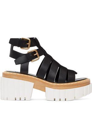Stella McCartney Women Sandals - Emilie Gladiator Heeled Sandals