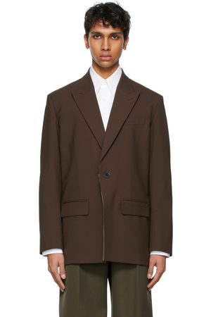 VALENTINO Technical Wool Blazer