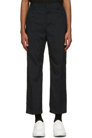 VALENTINO Navy Nylon Trousers