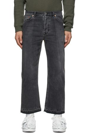 VALENTINO And Dual Material Jeans