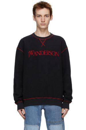 J.W.Anderson Men Sweatshirts - Inside-Out Contrast Sweatshirt