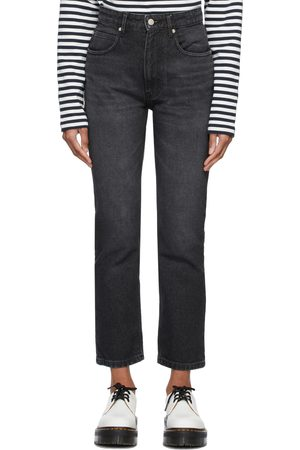 Ami Women Straight - Grey Straight Fit Jeans