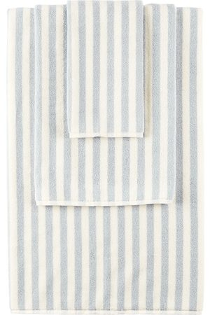 Tekla SSENSE Exclusive Off- and Stripe Towel Set