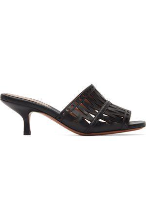 Alaïa Openwork Decoupe Sandals
