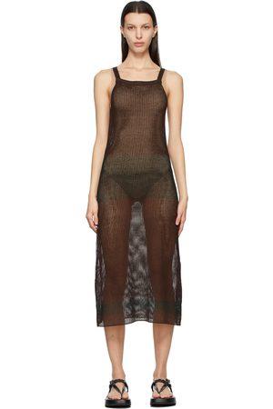 Auralee And Super Hard Twist Mesh Dress