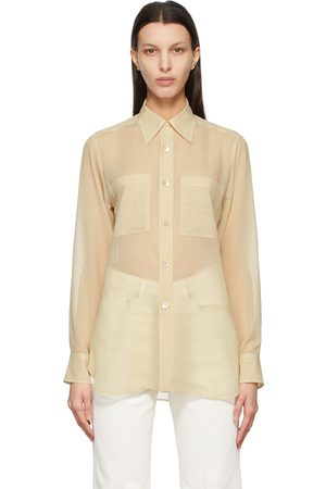 Auralee Wool Sheer Shirt