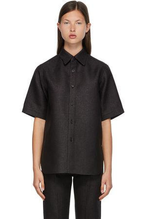 Auralee Washi Basket Half Sleeve Shirt