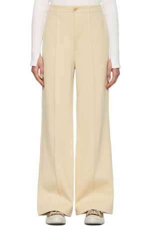 Auralee Nylon Double Knit Trousers