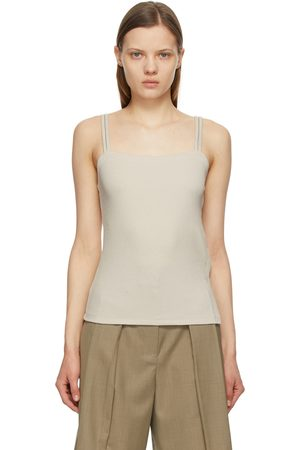 Kim Matin Off- Double Strap Tank Top