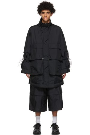 JERIH Detachable Pocket Coat