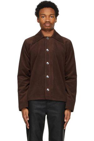Séfr Men Leather Jackets - Faux-Suede Trust Jacket