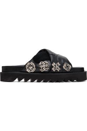 TOGA PULLA Embellished Platform Flat Sandals