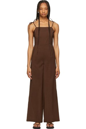 LE17SEPTEMBRE Crepe Sleeveless Jumpsuit