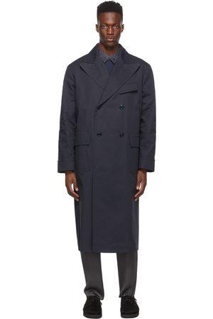 4SDESIGNS Navy Morning Coat