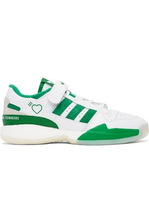 adidas White & Forum Sneakers