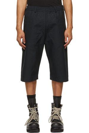 Arnar Mar Jonsson Navy Cotton Ventile Shorts