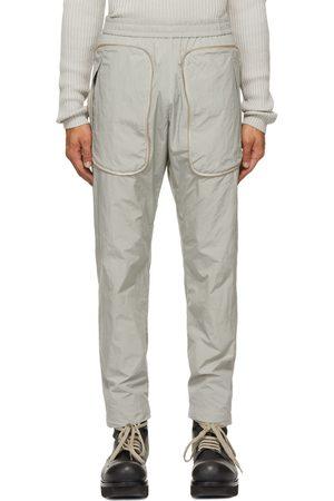 Arnar Mar Jonsson Grey Zippered Pocket Track Pants