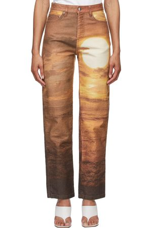 PRISCAVera Printed Sunset Jeans
