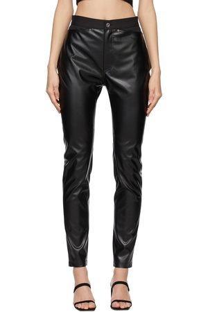 DRAE Women Leggings - Faux-Leather Legging Trousers