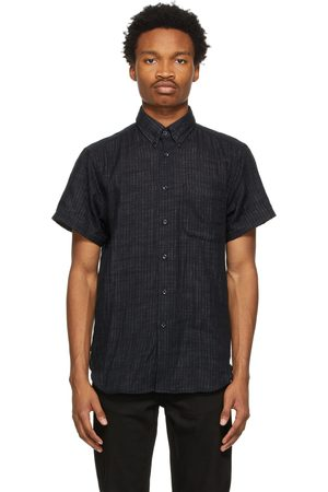 NAKED & FAMOUS Double-Faced Twill Easy Short Sleeve Shirt