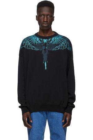 MARCELO BURLON Jacquard Wings Sweater