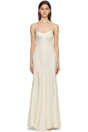 Jacquemus Off- La Robe Camargue Dress