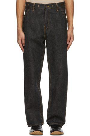 Jacquemus Navy Le De Nimes Jeans