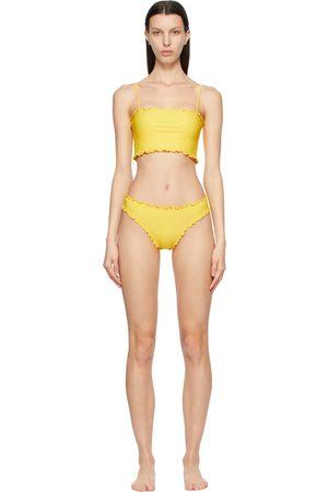 Sherris Ruffle Tank Top Bikini