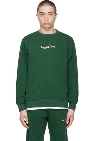 Museum of Peace and Quiet Men Sweatshirts - SSENSE Exclusive Word Mark Sweatshirt