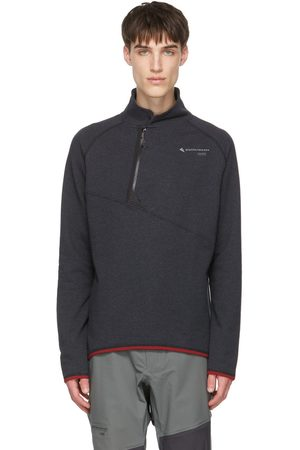 Klättermusen Grey Falen Zip-Up Sweatshirt