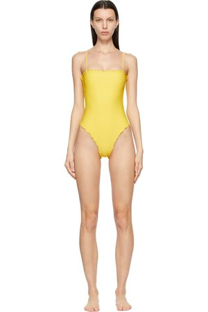 Sherris Ruffle Tank One-Piece Swimsuit
