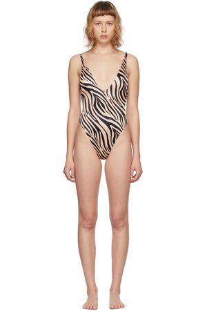 BOUND by bond-eye Women Swimsuits - Zebra Ring It In Swimsuit