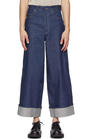 King and Tuckfield Wide Leg Graham Jeans
