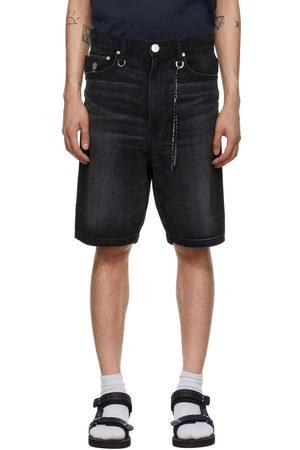 MASTERMIND JAPAN Denim Light Oz Shorts