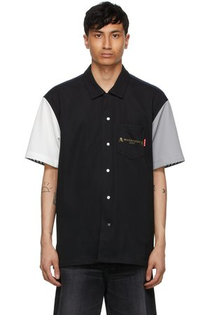 MASTERMIND JAPAN Multicolor Colorblocking Short Sleeve Shirt