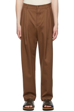 King and Tuckfield Tapered Pleat Trousers