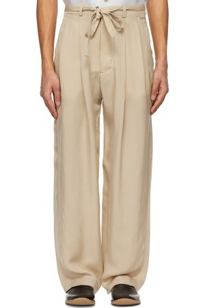 King and Tuckfield Men Pants - Belted Grant Trousers