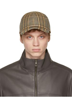Loro Piana Men Caps - Houndstooth Baseball Cap