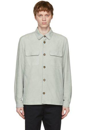 Loro Piana Leather Overshirt Jacket
