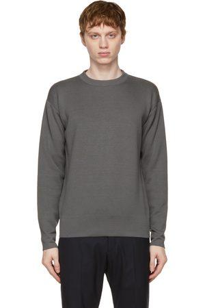 Loro Piana Grey Wish Wool T-Shirt Sweater