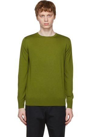 Loro Piana Green Wish Wool T-Shirt Sweater