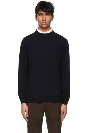 Loro Piana Navy Cashmere Silverstone Sweater