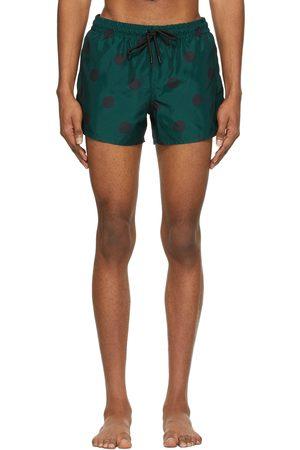 COMMAS And Spot Short Length Swim Shorts