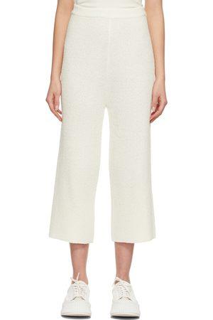 Blossom Women Sweats - Off- Boucle Knit Lounge Pants