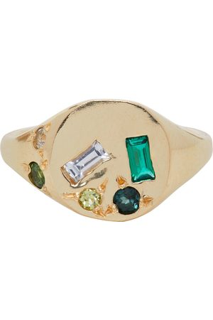 Seb Brown And Emerald Treasure Ring
